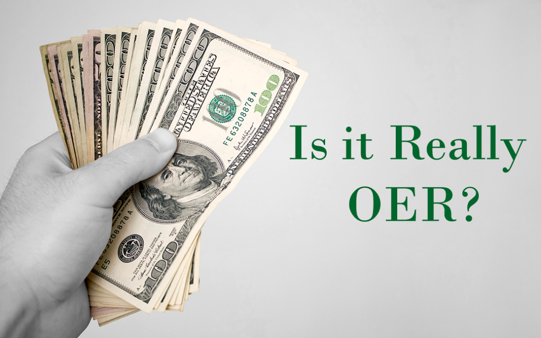Is It Really OER?