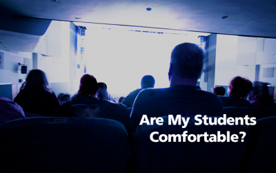 I'm Not Comfortable, But Are My Students?